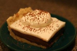 Haupia Chocolate Coconut Pie