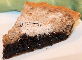 Chocolate Shoofly Pie