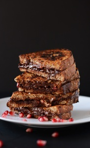Grilled-Pomegranate-Almond-Butter-and-Dark-Chocolate-Sandwich-minimalistbaker.com_