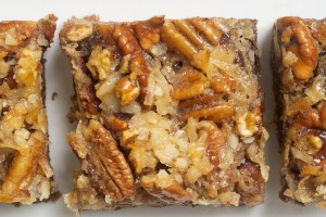 German Chocolate Pecan Pie Bars 1