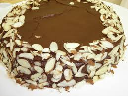 Reine De Saba (Chocolate Almond Cake) Recipe