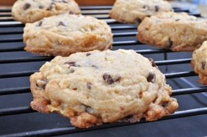 Chocolate Chip-Potato Chip Cookies