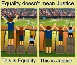 Equality of Justice