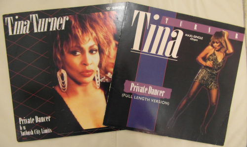 Tina Turner - Private Dancer 12 Inch - Cover