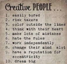 Creative People Traits