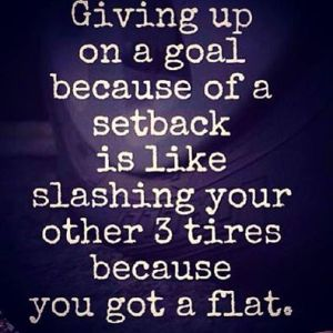 The Problem With Giving Up
