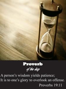 Proverbs 19.11