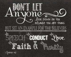 1 Timothy 4-12