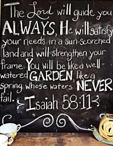 Isaiah 58-11