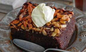 Chocolate Almond Upside-Down Cake 2