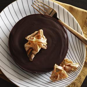 Chocolate Honey Almond Tarts