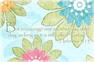 Hebrews3.13